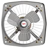 #4: Favy Metro/Turbo Fresh Air EXHAUST FAN || 225 mm (9 inch) || For Kitchen || For Bathroom || For Store || For Office || COLOR AS PER STOCK AVAILABLE || IS :996 Approved Motor