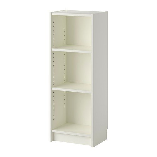 IKEA BILLY Bücherregal, weiß 40x28x106 cm (Hohe Bücherregal)