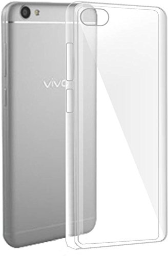 Tech Attires Vivo Y51 Transparent Ultra Protection Rubberised Crystal Clear Back Phone Cover for Vivo Y51