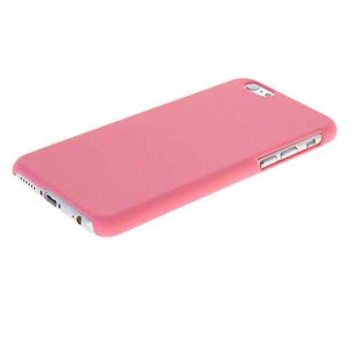 MOONCASE Hard Shell Cover Housse Coque Etui Case pour Apple iPhone 6 ( 4.7 inch ) Noir Rose