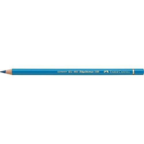 Faber-Castell Polychromos 110110 – Lápiz de color (Fijo, Madera, Azul, Azul, Alrededor)