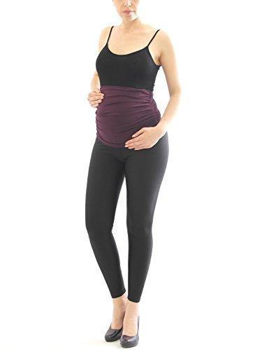Ceinture de ventre Fédérale de ventre Bande Bande de cigare Grossesse ceinture Extension de pantalon Violet Foncé