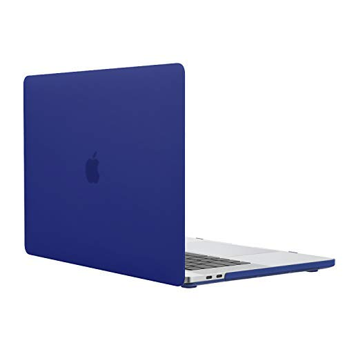 MoKo MacBook Pro 13 Case 2018/2017/2016, Slim PC Matte Frost Hard Shell Protective Cover for 2018/2017/2016 MacBook Pro 13 inch A1706/A1708 (with/Without Touch Bar), Royal Blue