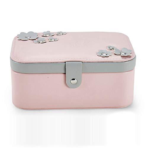 Simmia Home Boîte de Finition Multi-Fonctions pour boîte à Bijoux, Rose