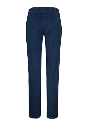 Million X Damen Jeans Happy Fit Skinny Blue Blue