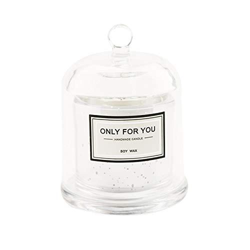 GSKTY Aromatherapie-Kerze Rauchlose Soja Wachs ätherisches Öl Duft Glas Aromatherapie Kerze Karte Geschenke -
