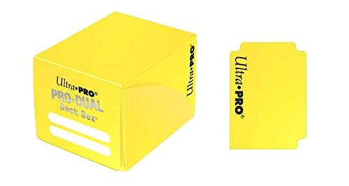Ultra Pro 82986 - Deck Box - Dual Small, gelb -