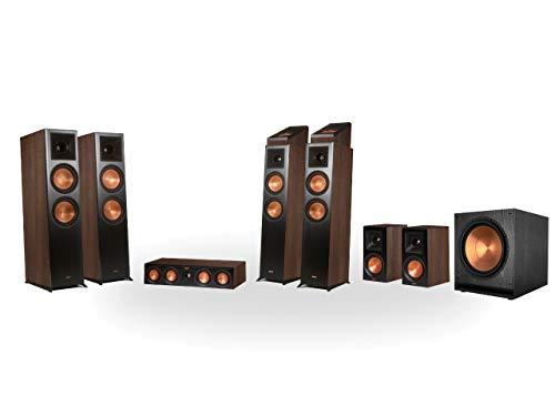 Klipsch RP-8060FA 7.1.4 Dolby Atmos Home Theater System Walnuss - 1 Walnuss
