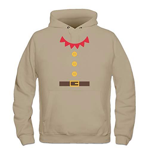 Shirtcity Santas Little Helper Costum Kapuzenpulli ()