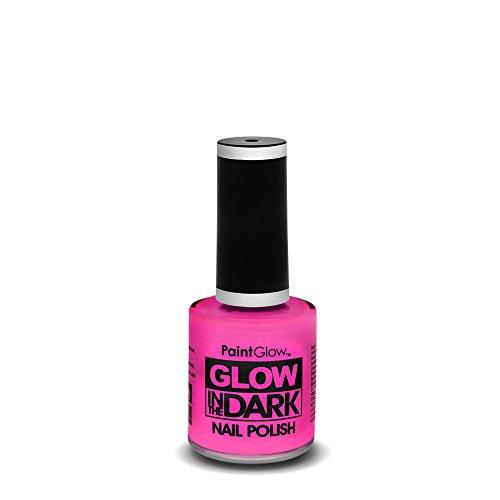 PaintGlow Glow in the Dark Nagellack, Neon-Pink, 10 ml