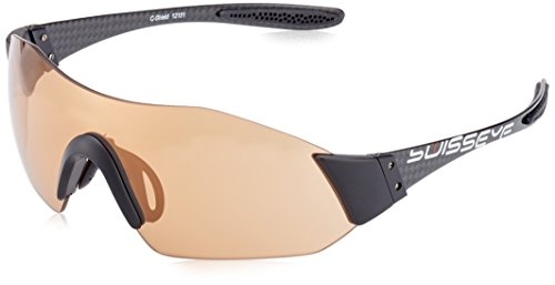Swiss Eye Sportbrille C-Shield, Black Carbon, One Size, 12191
