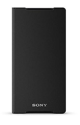Sony Etui Folio en Plastique pour Xperia Z2 Noir