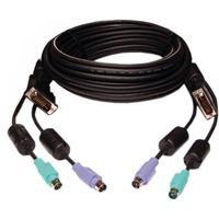 Avocent - Keyboard / video / mouse (KVM) cable - 6 pin PS/2, DVI-I - 6 pin PS/2, DVI-I - 1.8 m