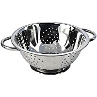 Stainless steel collection Twin Handled Stainless Steel Colander, 23 cm