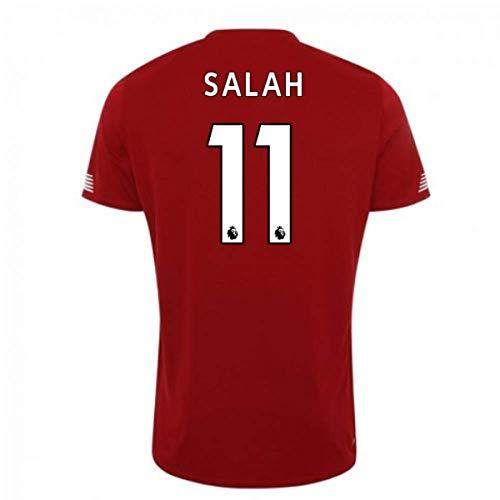 UKSoccershop 2019-2020 Liverpool Pre Game Jersey (Red) (Mo Salah 11) -