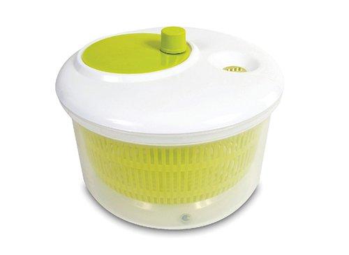 Jomafe Quickveg - Escurridor giratorio para ensalada, color verde y blanco