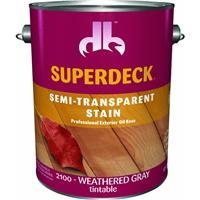 Superdeck Semi-Transparent Deck And Siding Stain by Duckback Prod. -