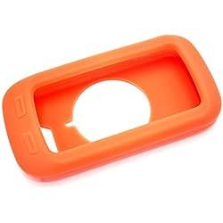 vhbw funda de silicona naranja soporte de clip para ordenador de bicicleta navegador para bicicleta Garmin Edge 1000