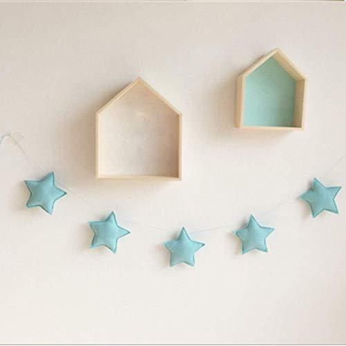 Decoración de Pared Boda Arte Guirnalda Adorno Suministros Bricolaje Infantil Habitación Bebé...