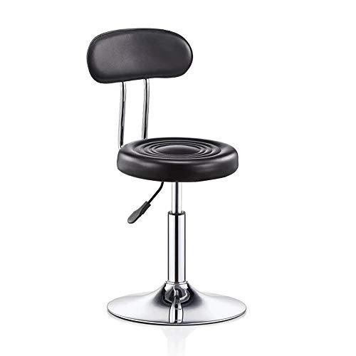 YN Moderner minimalistischer Barhocker Barhocker Beauty Stuhl Rückenlehne Hocker Rotierender Lift...