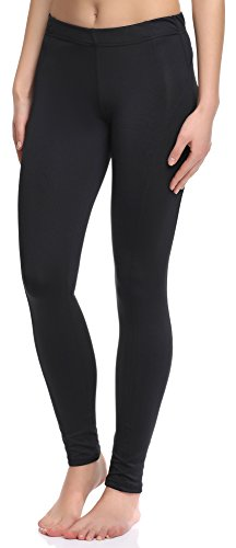 Merry Style Damen Fitness Leggings 101-SP Schwarz