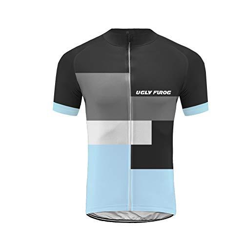 Uglyfrog+ Herren T-Shirt Bike Ride Triathlon Bicycle Fahrrad