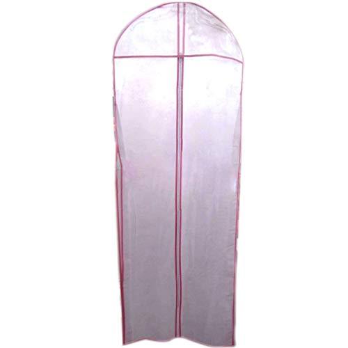 Morelyfish Non-Woven-Staubschutz Brautkleid-Kleid-Kleid-Abdeckungs-Beutel Halb-Transparent Kleid...