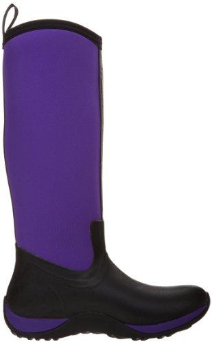 Muck Boots - Arctic Adventure Print, stivali di gomma  da donna Nero (Black  (Black/Purple))