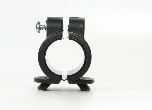 31ewixgoCsL - Soporte para bastón para andador y tubos de silla Fijación en 20mm, para bastón con D = 15-20mm