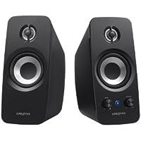 Creative T15 2.0 Bluetooth-Lautsprechersystem schwarz
