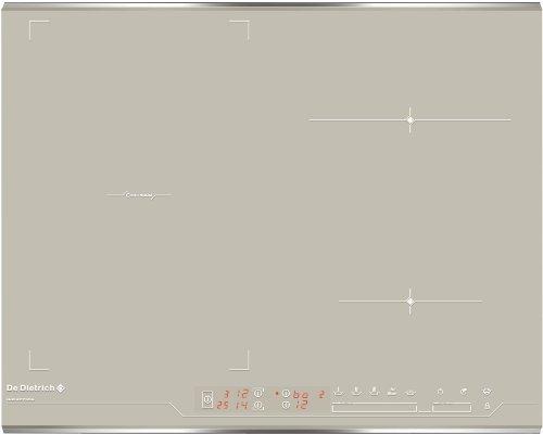 De Dietrich DTI1047GC plaque - plaques (Intégré, Electrique, Céramique, Beige, senseur, Devant)