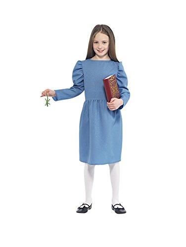 Roald Dahl–Matilda Kinder Kostüm (Roald Dahl Kostüm Matilda)