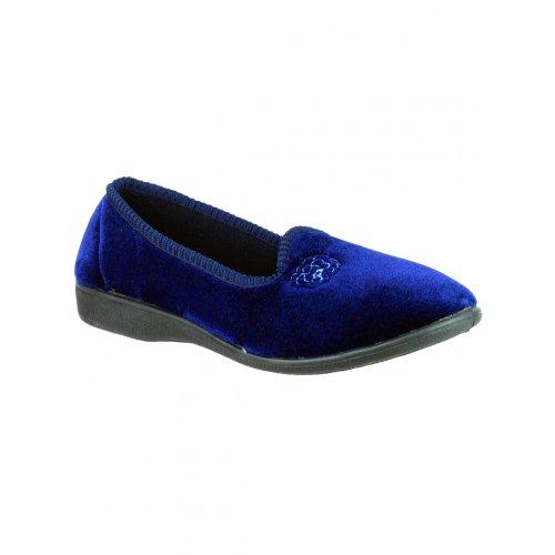 Mirak Simone - Pantofole Invernali - Donna Blu navy