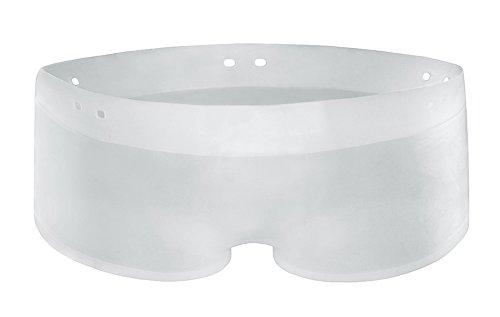 HB Underwear Transparente Silikon Rubber Badehose Short elastisch wie Gummi oder Latex Größe L/XL