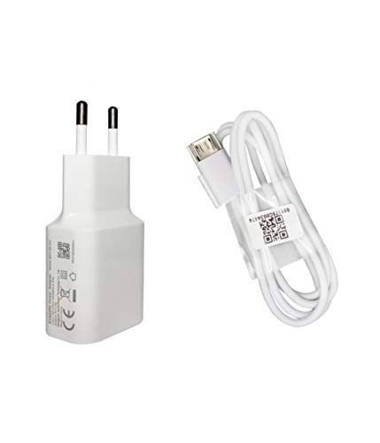 Movilux_ES Charger Original MDY-08-IT'S THE (5V / 2A) + Cable Micro USB para Xiaomi Redmi Note, Xiaomi Mi3, We 3S, My 4, We 4X, Redmi Note 4, White color, Bulk