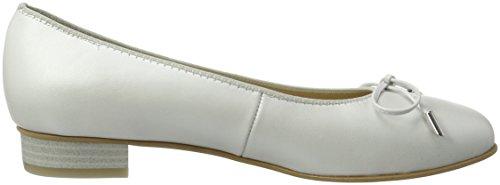 Ara Bari, Damen Geschlossene Ballerinas Weiß (Offwhite-26)