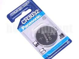 Panasonic Battery, Lithium Button Cell Cr3032- Cr 3032 (3 Pieces) by PANASONIC (English Manual)