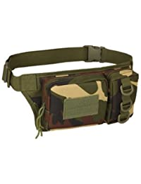 Generic Outdoor Sports Waist Bag 3P Molle Camouflage Phone Bag Utility Pack Pouch Camping Hiking - B07FQQY2B1