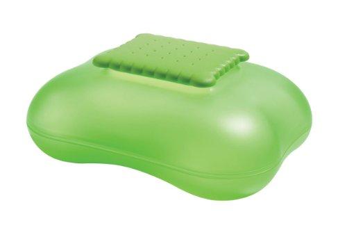 A di Alessi ASG07 GR Mary Biscuit Boîte à Biscuits en Résine Thermoplastique Vert