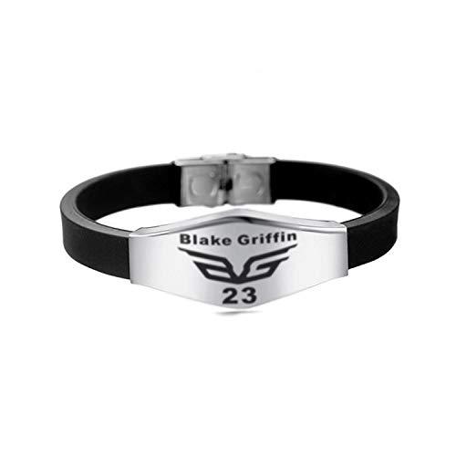 etball-Kultur-Edelstahl-Silikon-Armband-Sport-laufendes Armband-Paar-Armband-Partei-Geschenke @ 9 ()