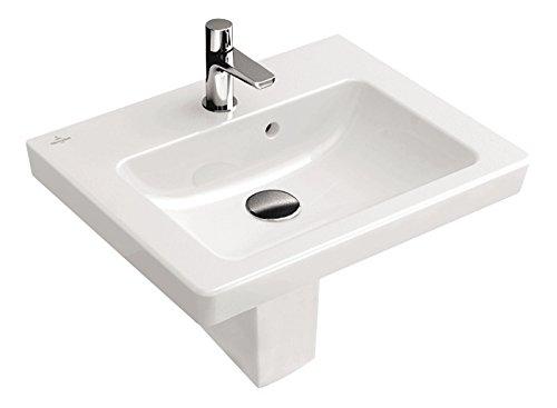Handwaschbecken Subway 2.0 I Villeroy und Boch , 73154501 , 45 cm I Weiß I Gäste-WC