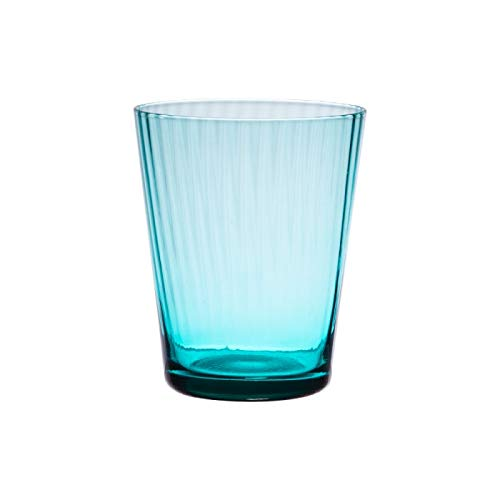 Table Passion - Verre venise bleu turquoise 37 cl (lot de 6)