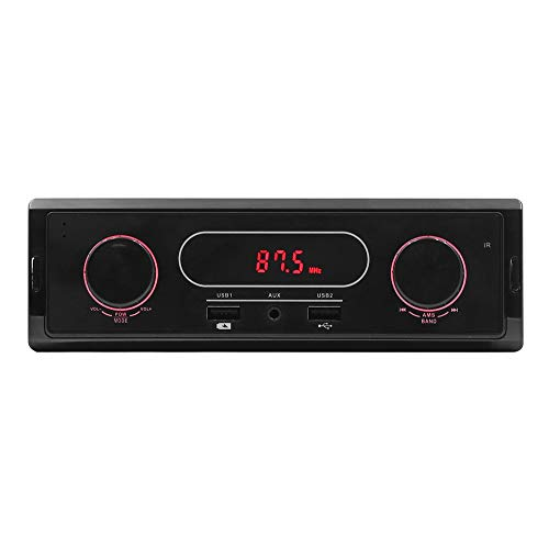 Yagii Mini Auto Radio FM Frequenzmodulation Empfänger AUX Dual USB Ladegerät Koordinator