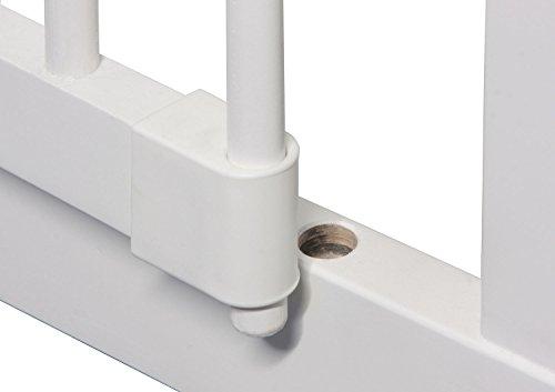 IB-Style – Treppengitter / Türgitter KOLBY M | 3 Größen |86 – 92 cm | aus massivem Holz – Weiß - 6