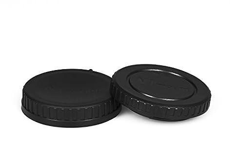 Nikon 1 Gehäusedeckel & Objektivrückdeckel Gehäuse Deckel Kappe Body Cap