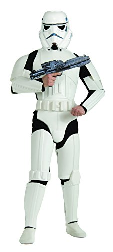 Rubie's 3 888572 - Stormtrooper Deluxe Erwachsener Kostüm, Größe (Für Kostüm Erwachsene Storm)