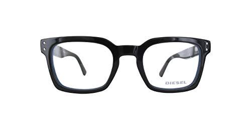 Diesel Unisex-Erwachsene Dl5229-5-Schwarz Brillengestelle, Schwarz, 50