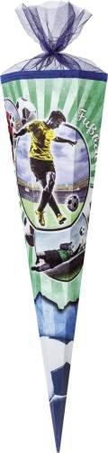 Nestler Schultüte Fußball Zuckertüte Schulanfang Einschulung Schule Fussball: Größe: 85 cm