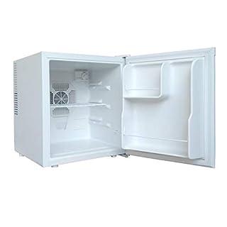 Acopino BC50A Minikühlschrank, Thermoelektrischer Kühlschrank in weiss, LED Beleuchtung