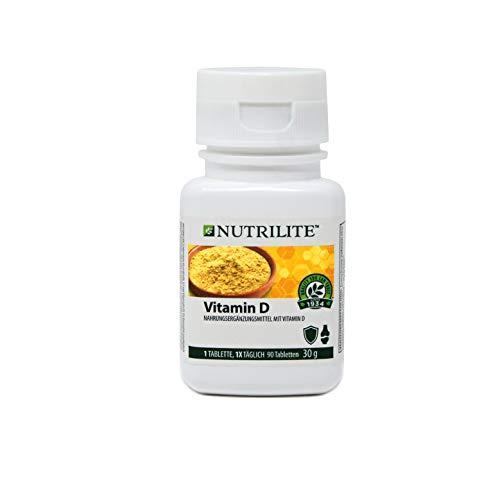 Vitamin D NUTRILITETM - Nahrungsergänzungsmittel mit Vitamin D aus natürlichen Quellen - 90 Tabletten / 30 g - Amway - (Art.-Nr.: 119797)